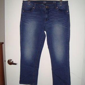 EUC capri jeans